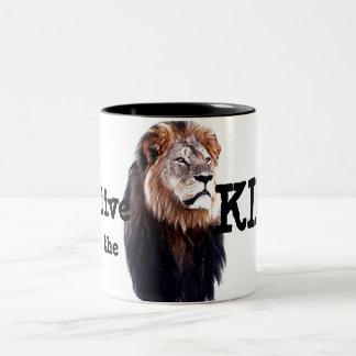 Long live the King! Two-Tone Coffee Mug