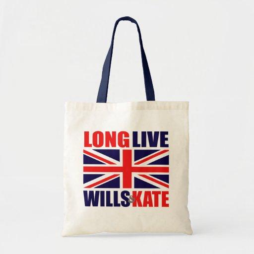 Long Live Wills & Kate Budget Tote Bag