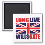 Long Live Wills & Kate Fridge Magnet