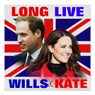 Long Live Wills Kate Picture Poster