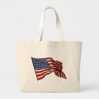Long May She Wave - Flag Large Tote Bag