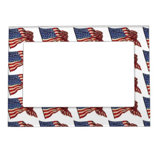 Long May She Wave - Flag Magnetic Frame