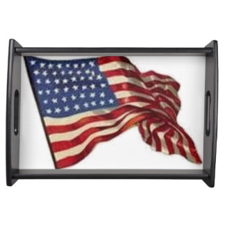 Long May She Wave - Flag Serving Tray