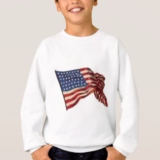 Long May She Wave - Flag Sweatshirt