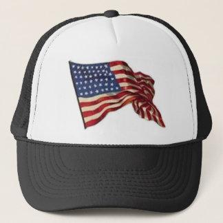 Long May She Wave - Flag Trucker Hat