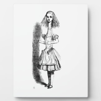 Long Neck Alice Plaque