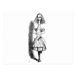 Long Neck Alice Postcard