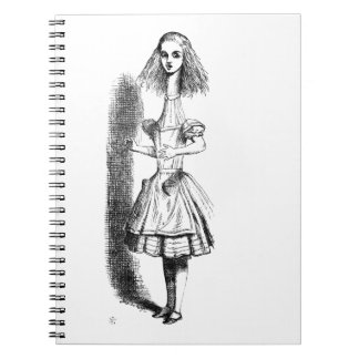 Long Neck Alice Spiral Notebook
