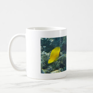 Long Nose Butterfly Fish Coffee Mug
