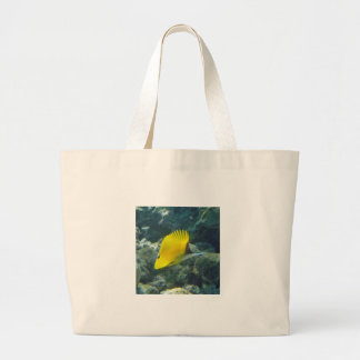Long Nose Butterfly Fish Canvas Bags