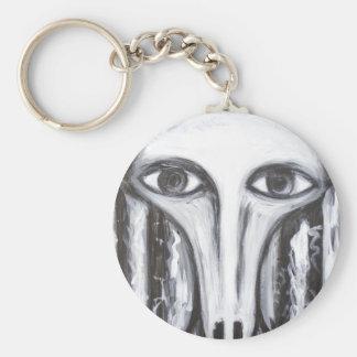 Long Nose Fortune-Teller(odd surrealism portrait) Key Chains
