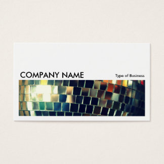 Long Picture 0189 - Mirror Ball Business Card