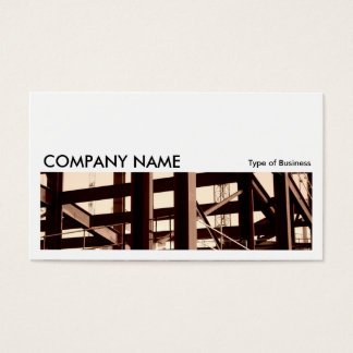 Long Picture 06 - Steel Frame Contruction Business Card