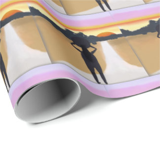 Long Road Ahead Wrapping Paper