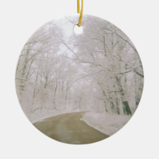 Long Road Home For Christmas Ornament