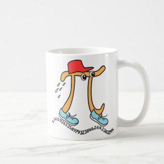 Long Running © Pi - Funny Pi Guy - Pi Day Gift Coffee Mug