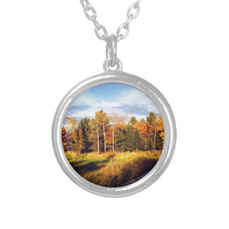 Long Shadows Silver Plated Necklace