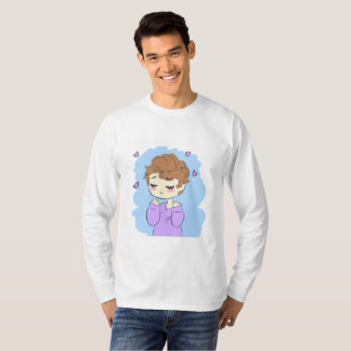 LONG SLEEVE CHIBI AW YEAH T-Shirt