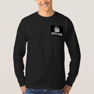 Long Sleeve Cotton T-Shirt, Black T-Shirt