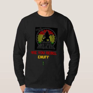 Long Sleeve Jah Sky Black T-Shirt
