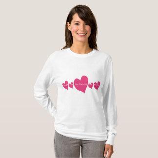 Long-sleeve ladies t-shirt