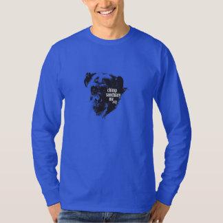 Long Sleeve men's/unisex Chimp Sanctuary NW Shirt