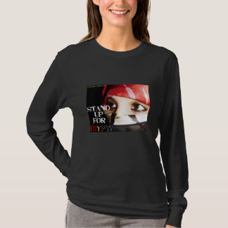 """Long Sleeve """"Stand Up for Egypt"""" T-Shirt"""