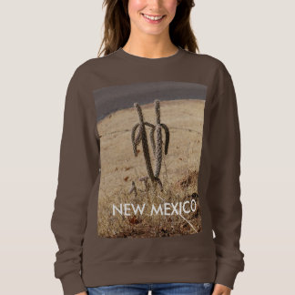 Long sleeve T  cactus NEW MEXICO Sweatshirt