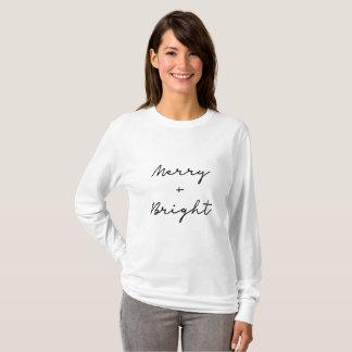 Long sleeved Christmas shirt | hand lettered