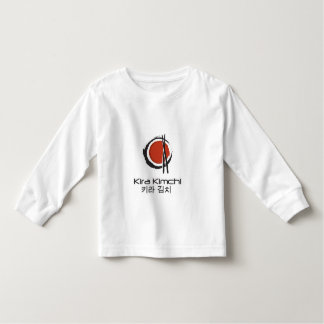 Long Sleeved Kira Kimchi Toddler Shirt