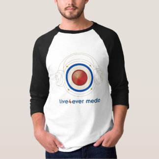 Long Sleeved Live4ever Media T Shirt