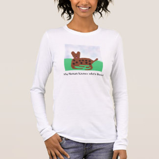 Long Sleeved Spotted Dog Tee Shirts