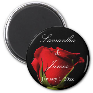 Long Stemmed Red Rose Personal Magnet