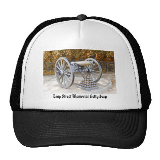 Long Street Memorial Gettysburg PA Mesh Hats