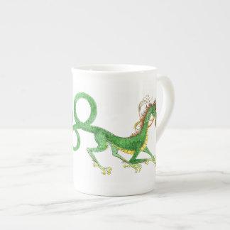 Long Tailed Dragon Bone China Mug