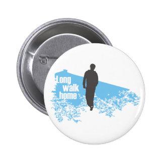 Long Walk Home Blue button