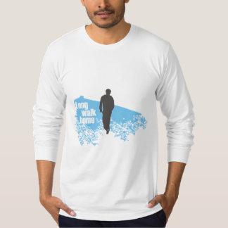 Long Walk Home Blue long-sleeve shirt
