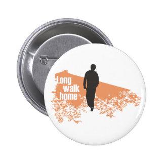 Long Walk Home Salmon button