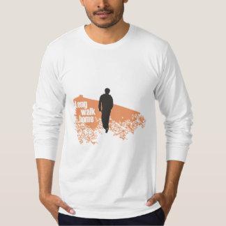 Long Walk Home Salmon long-sleeve shirt