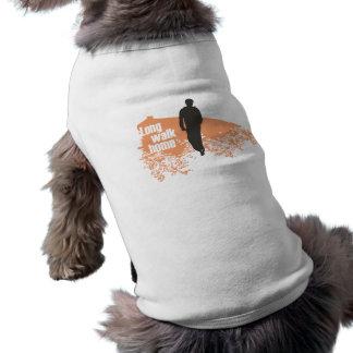 Long Walk Home Salmon pet shirt