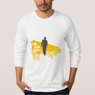 Long Walk Home Yellow long-sleeve shirt
