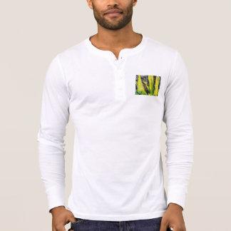 Long yellow leaves tee shirts
