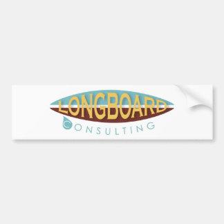 Longboard Consulting Car Bumper Sticker