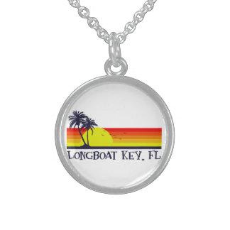 Longboat Key Florida Sterling Silver Necklace