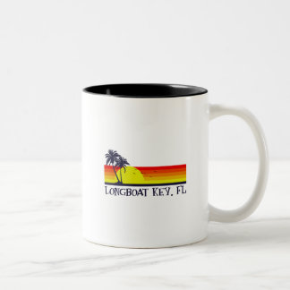 Longboat Key Florida Two-Tone Coffee Mug