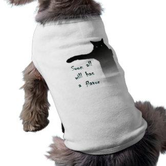 Longcat Tacgnol All has a Flavor Doggie Tshirt