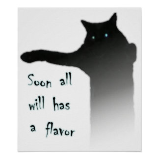 Longcat Tacgnol All has a Flavor Poster