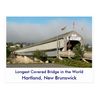 Longest Covered Bridge in the Worl... Post Card