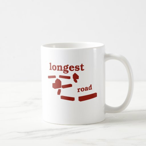 Longest Road! Basic White Mug