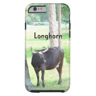 Longhorn Cow Trees iPhone 6 Case Tough iPhone 6 Case
